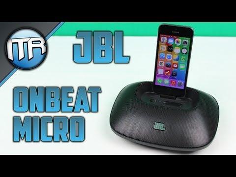 JBL OnBeat Micro - Sound-Dockingstation für iPhone und iPod [HD] - Deutsch/German