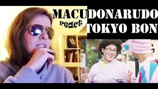 Reaction Tokyo Bon 東京盆踊り2020 Makudonarudo Namewee 黃明志 ft. Meu Ninomiya girls reaction first react