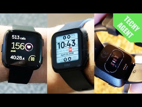 Fitbit Versa – Full Exercise REVIEW