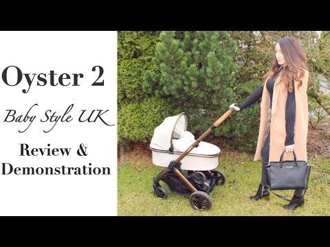 BABY STYLE UK OYSTER 2 PRAM/PUSHCHAIR/STROLLER/TRAVEL SYSTEM | REVIEW AND DEMONSTRATION
