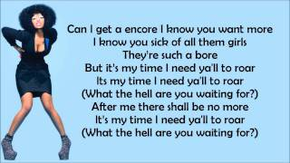 Nicki Minaj - Encore '07 Lyrics Video