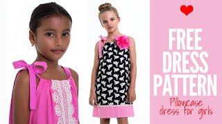 Pillowcase Dress Pattern | Free Girls Dress Pattern