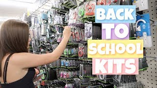 Back To School Emergency Kit Shopping