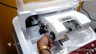 HOW TO FITTING A SPECTACLE IN AUTO EDGER MACHINE