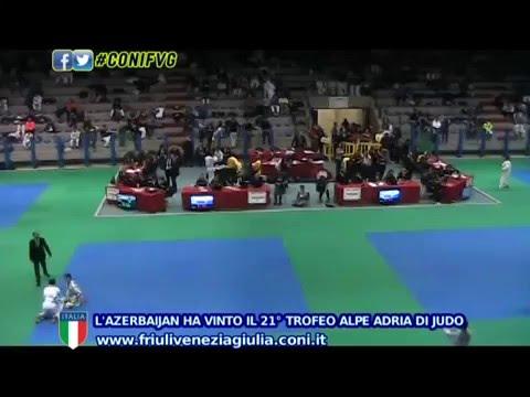 All'Azerbaijan il 21° Trofeo Alpe Adria di Judo