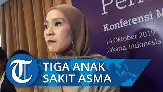 Pengalaman Zaskia Adya Mecca Punya Tiga Anak dengan Penyakit Asma