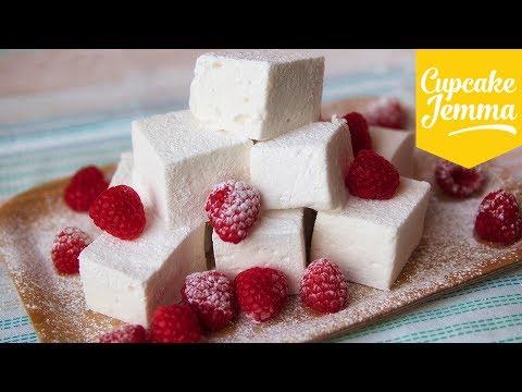 Easy Marshmallow Recipe feat. Happy Mallow | Cupcake Jemma