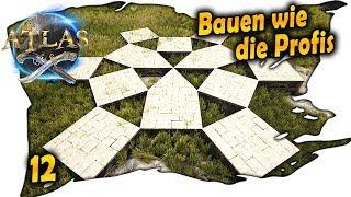 ATLAS deutsch ☠️ 12 - Bauen wie die Profis | ATLAS deutsch german gameplay