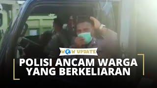 Viral Video Polisi Ancam Pukul Warga yang Berkeliaran dengan Rotan, Kapolres Jayapura Buka Suara