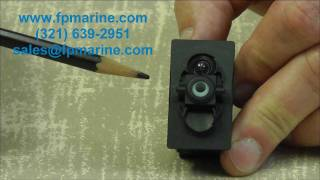 Carling Rocker Switches Introduction Video www.fpmarine.com