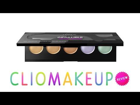 Review palette correttori l'Oréal Infallible total cover