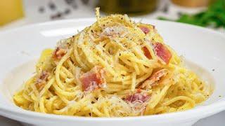 Паста Карбонара. Итальянская кухня. Рецепт от Всегда Вкусно!