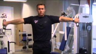 StewSmith Fitness Library:  Light Weight Shoulder Workout