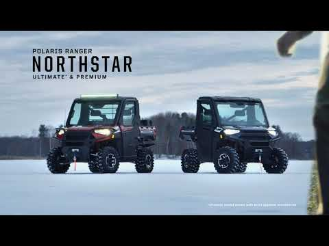 2021 Polaris Ranger Crew XP 1000 NorthStar Edition Ultimate + MB Quart Audio Package in Auburn, California - Video 1