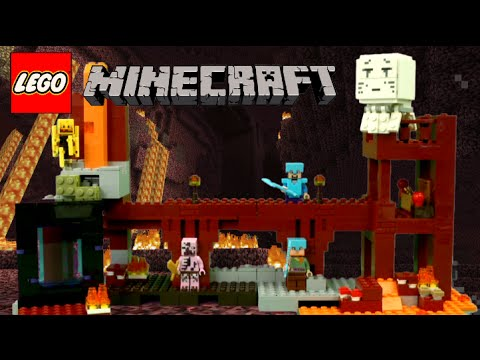 LEGO Minecraft The Nether Fortress from LEGO