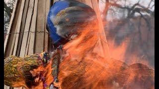 В минувшее воскресенье в Великом Новгороде прошел  праздник Масленицы