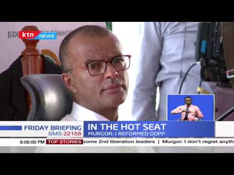 SC. Murgor clashes with Ag.Mwilu when he said there was a vacuum in  the office of the CJ