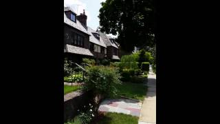 Walking in Forest Hills,  NY