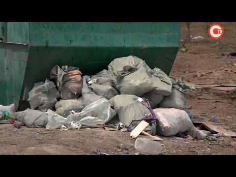 В Нахимовском районе произошла очередная мусорная «история»