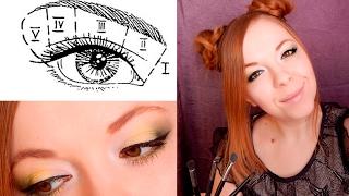 Классическая вертикальная техника макияжа. Учись вместе со мной :)