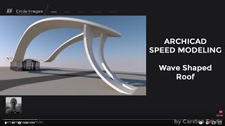 Speed  Modeling wave roof shape