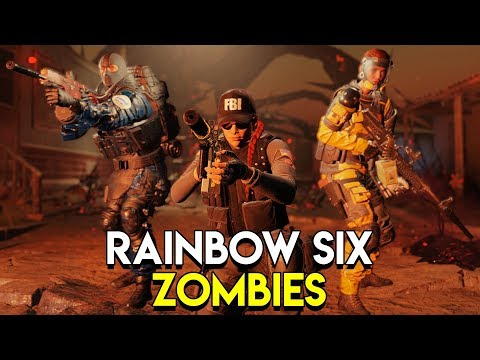 RAINBOW SIX ZOMBIES! - Rainbow Six: Siege Outbreak Gameplay