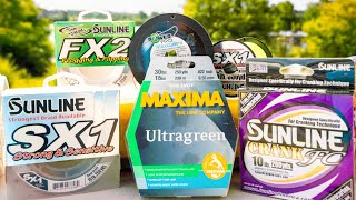 Which Fishing Line Is Best? Braid vs Monofilament vs Fluorocarbon