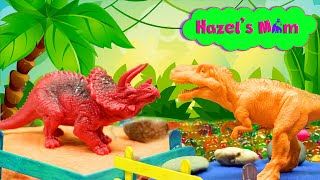 We're building a dinosaur zoo!