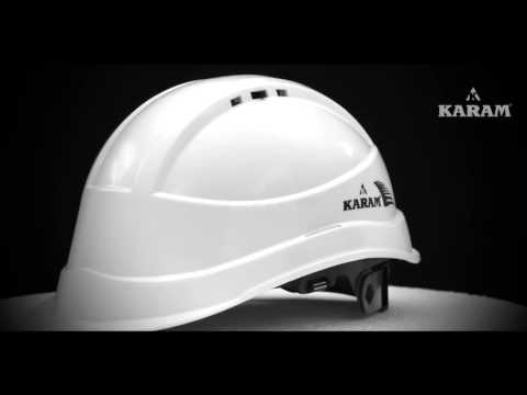 Karam Red Safety Helmet