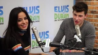 """Camila Cabello & Shawn Mendes Drop """"I Know What You Did Last Summer"""" Duet & Interview w/ Elvis Duran"""