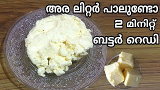 How To Make Butter From Raw Milk At Home | Butter Undakunnathu Engane | Homemade Butter Making