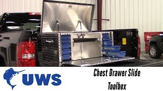 In the Garage™ with Total Truck Centers™: UWS Chest Drawer Slide Toolbox