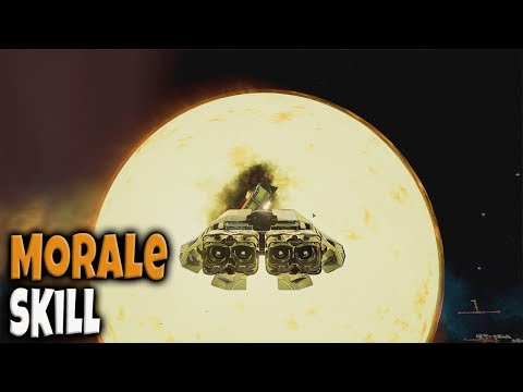 What does the Morale skill do? | X4: Foundations