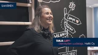 Heltin Tanja Lappi: Aivoergonomia pitää tietotyöläisen terveenä _tekstitys