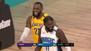 Los Angeles Lakers Vs Orlando Magic - Scrimmage - 1st Half Highlights | NBA Restart