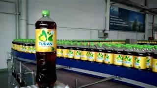 Розлив холодного чая TURAN на природной минеральной воде региона Боровое