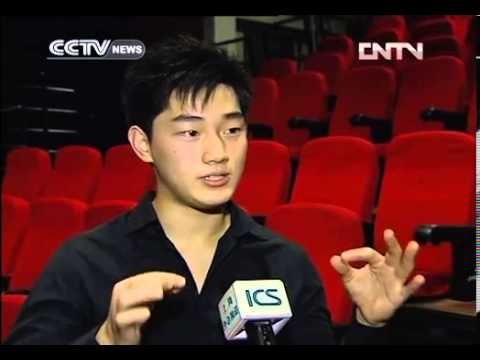 CCTV Interview after attend Shanghai International Arts Festival