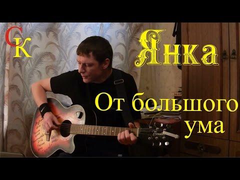 ОТ БОЛЬШОГО УМА - Янка Дягилева (Бой+ПРАВИЛЬНЫЕ аккорды) кавер