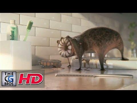 """CGI 3D Animated Spot : """"Sink""""  by – Dvein / Blacklist"""