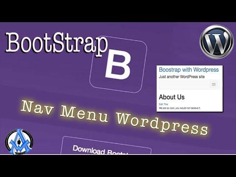 BOOTSTRAP TO WORDPRESS THEME INTEGRATION PART 2 WP NAV MENUS