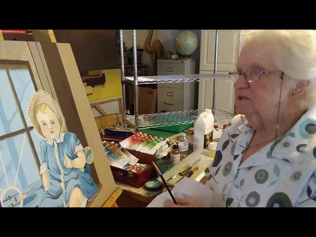 Dry Brush Tutorial – Jenny Burrow
