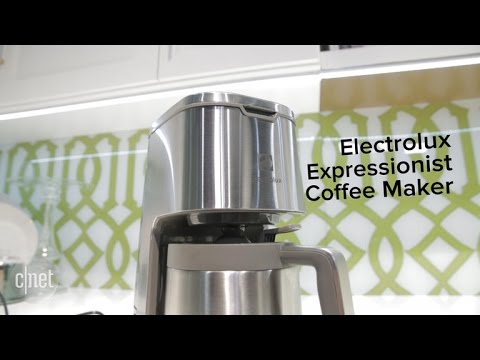 Small Electrolux coffee maker promises big flavor