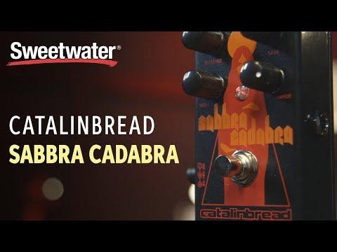 Catalinbread Sabbra Cadabra Overdrive Pedal Review