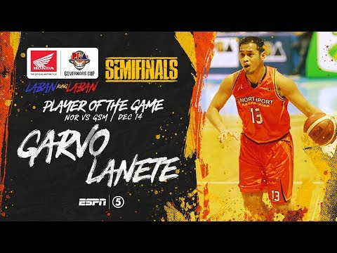 Best Player: Garvo Lanete | PBA Governors' Cup 2019 Semifinals