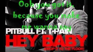 Hey Baby Lyrics - YouTube