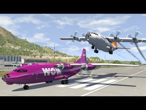 Airplane Crashes #14 - BeamNG DRIVE | SmashChan
