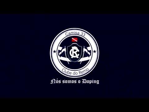 """""""Turistas de estádio"""" Barra: Camisa 33 • Club: Remo"""