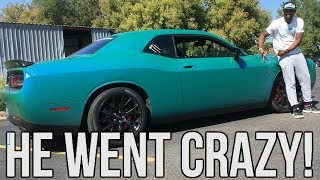 I Let My Brother Drive My Hellcat!! He Went Crazy  ♂️