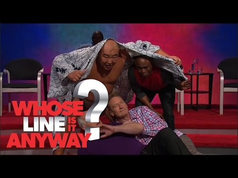 Živé kulisy: Aladin a princezna Jasmína - Whose Line Is It Anyway?