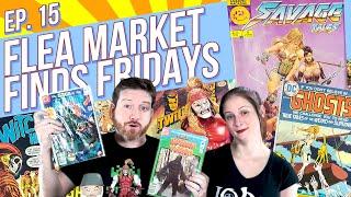Flea Market Finds Fridays Episode 15: A Toy Biz Marvel Legends & A Haul Of Vintage Horror Comics!